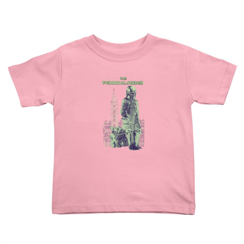 William Penn Baby Yoda Kids Toddler T-Shirt by TwistedPhillyPodcast's Shop