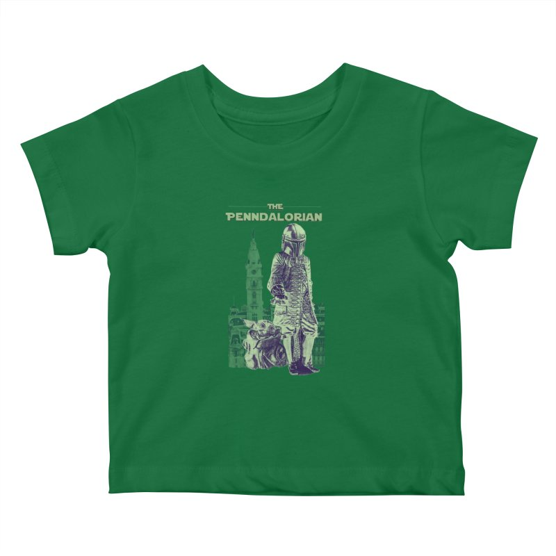 William Penn Baby Yoda Kids Baby T-Shirt by TwistedPhillyPodcast's Shop