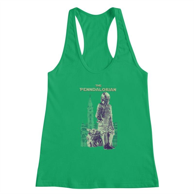 The Penndalorian - Philadelphia William Penn Women's Tank by TwistedPhillyPodcast's Shop
