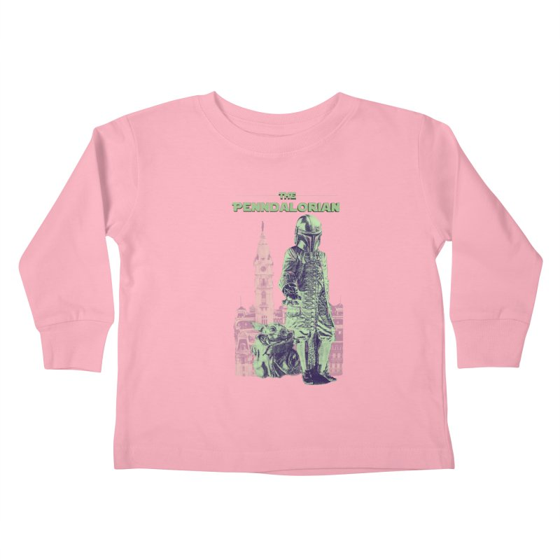 William Penn Baby Yoda Kids Toddler Longsleeve T-Shirt by TwistedPhillyPodcast's Shop