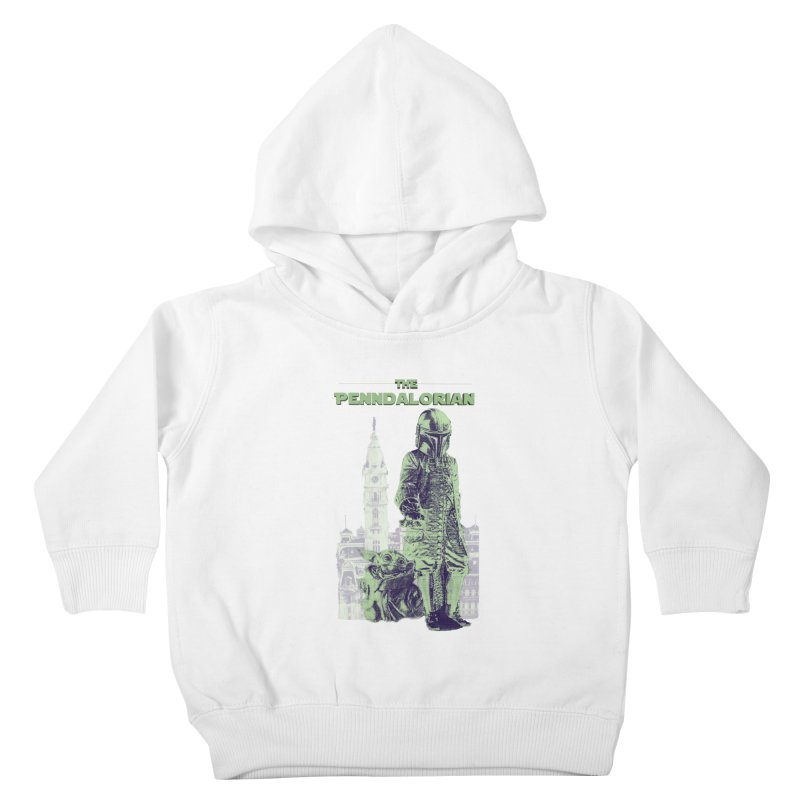 William Penn Baby Yoda Kids Toddler Pullover Hoody by TwistedPhillyPodcast's Shop