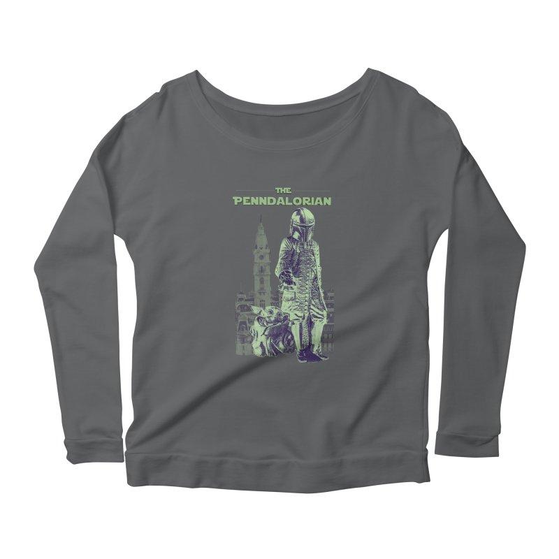 William Penn Baby Yoda Women's Longsleeve T-Shirt by TwistedPhillyPodcast's Shop