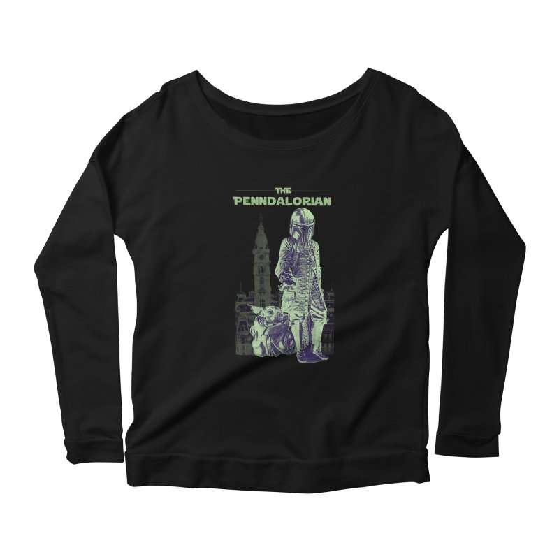William Penn Baby Yoda Women's Scoop Neck Longsleeve T-Shirt by TwistedPhillyPodcast's Shop