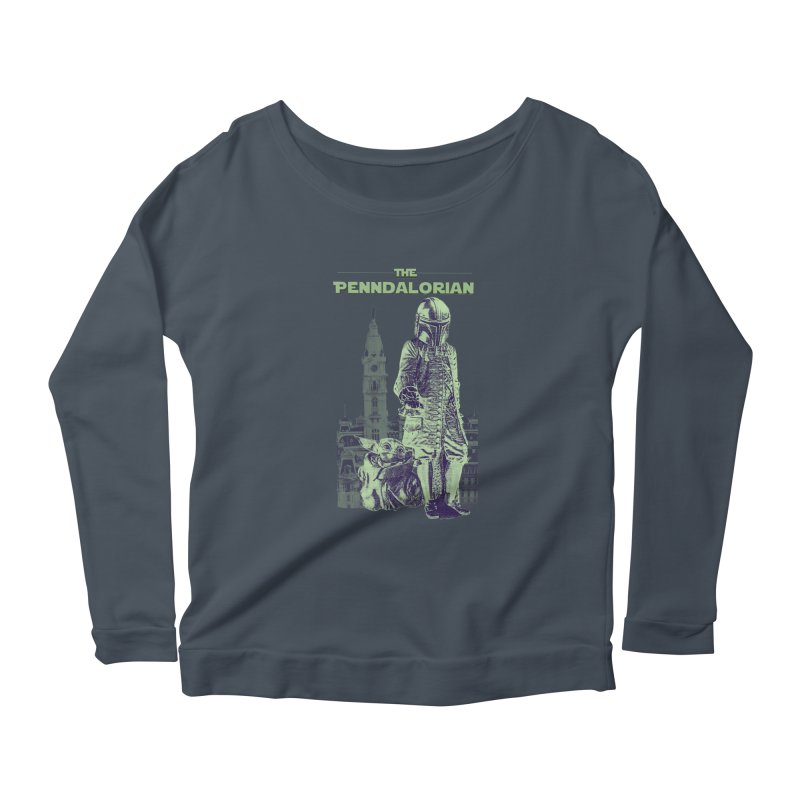 William Penn Baby Yoda Women's Longsleeve T-Shirt by TwistedPhillyPodcast's Shop
