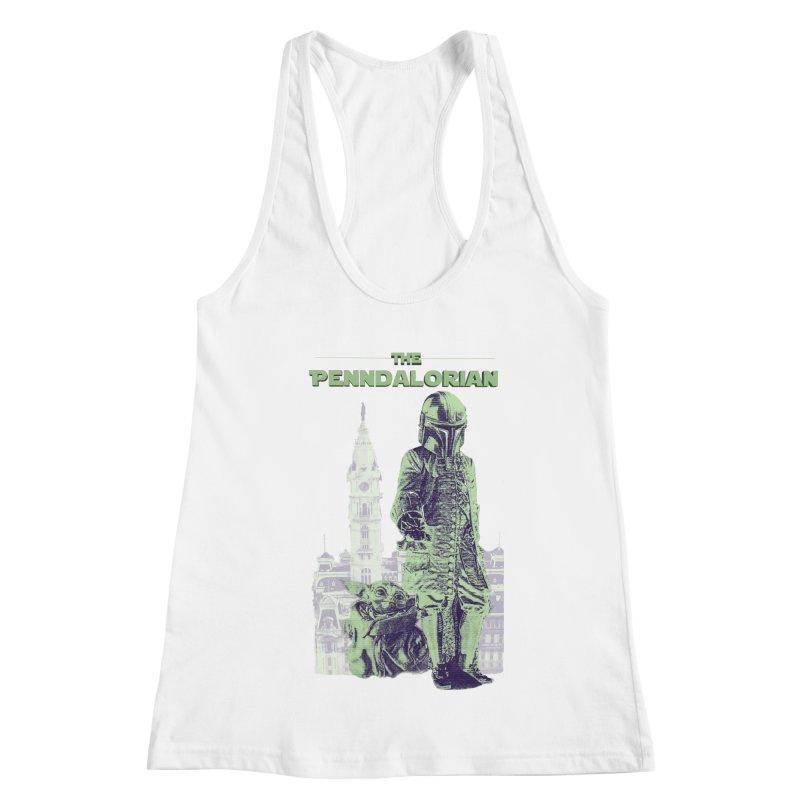 William Penn Baby Yoda Women's Racerback Tank by TwistedPhillyPodcast's Shop