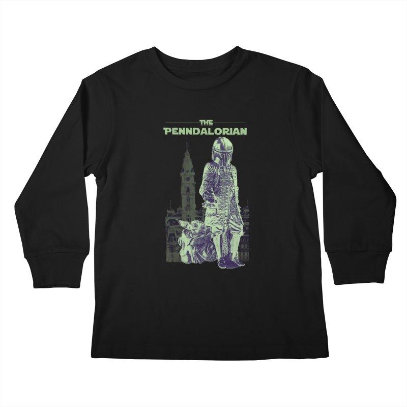 William Penn Baby Yoda Kids Longsleeve T-Shirt by TwistedPhillyPodcast's Shop
