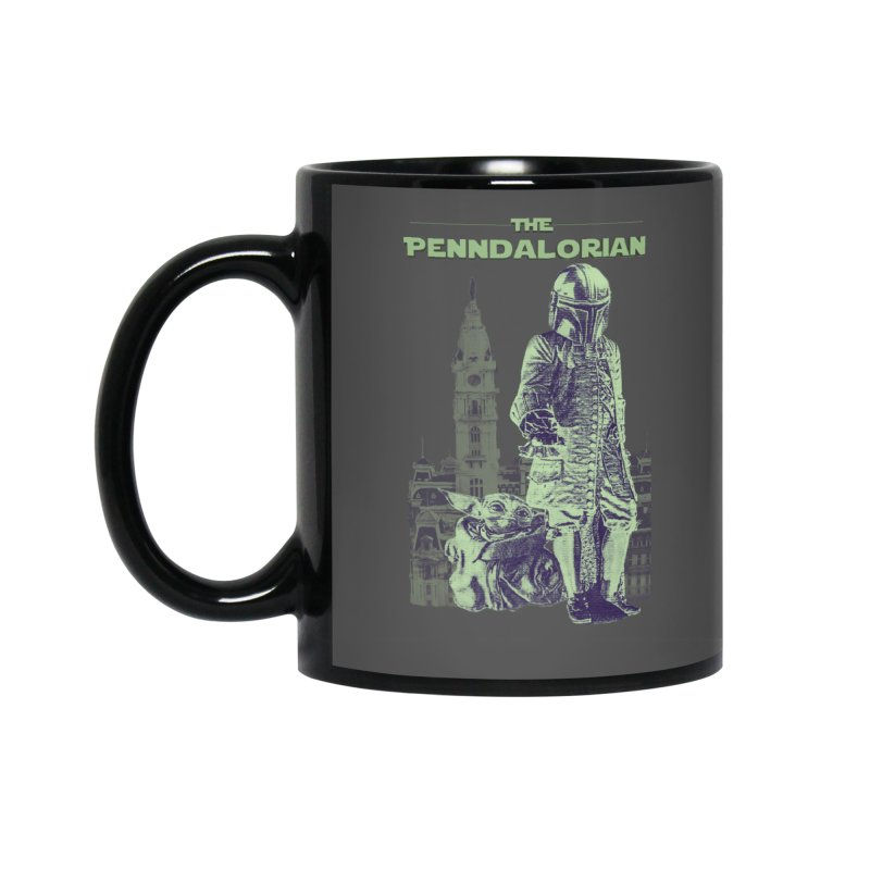 William Penn Baby Yoda Accessories Standard Mug by TwistedPhillyPodcast's Shop
