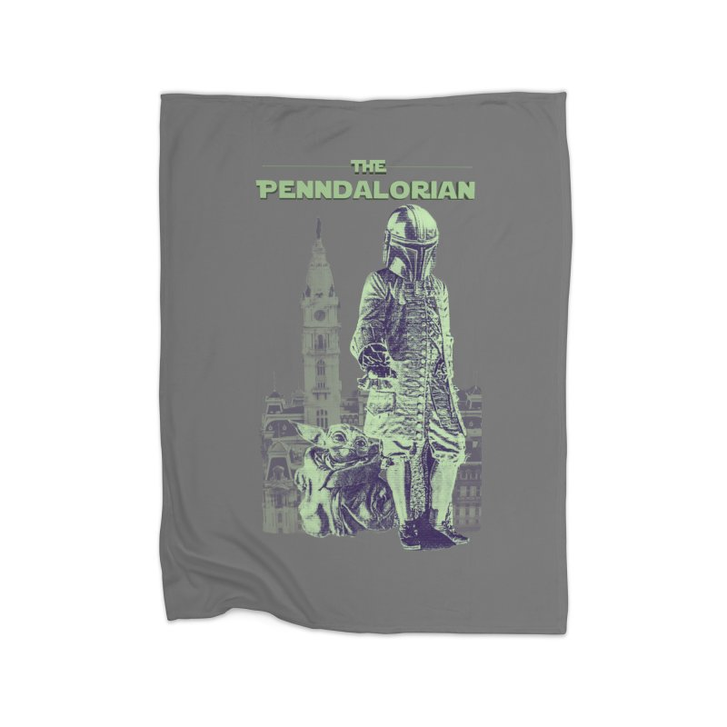The Penndalorian - Philadelphia William Penn Home Blanket by TwistedPhillyPodcast's Shop