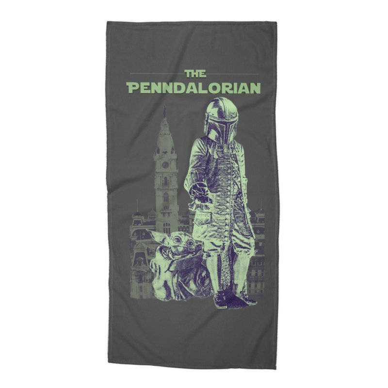 William Penn Baby Yoda Accessories Beach Towel by TwistedPhillyPodcast's Shop