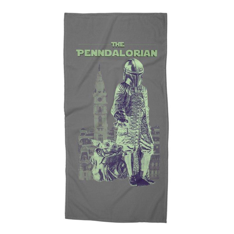 The Penndalorian - Philadelphia William Penn Accessories Beach Towel by TwistedPhillyPodcast's Shop