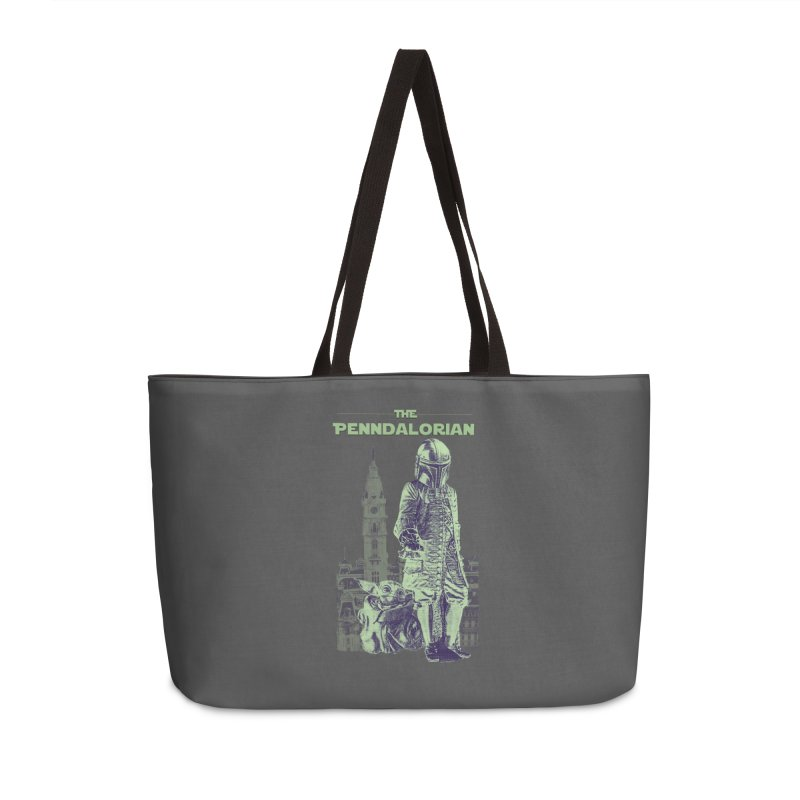 William Penn Baby Yoda Accessories Weekender Bag Bag by TwistedPhillyPodcast's Shop