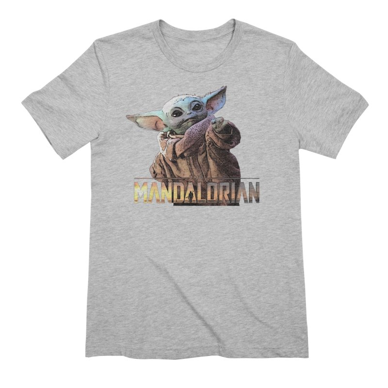 Baby Yoda 2 Men's Extra Soft T-Shirt by TwistedPhillyPodcast's Shop