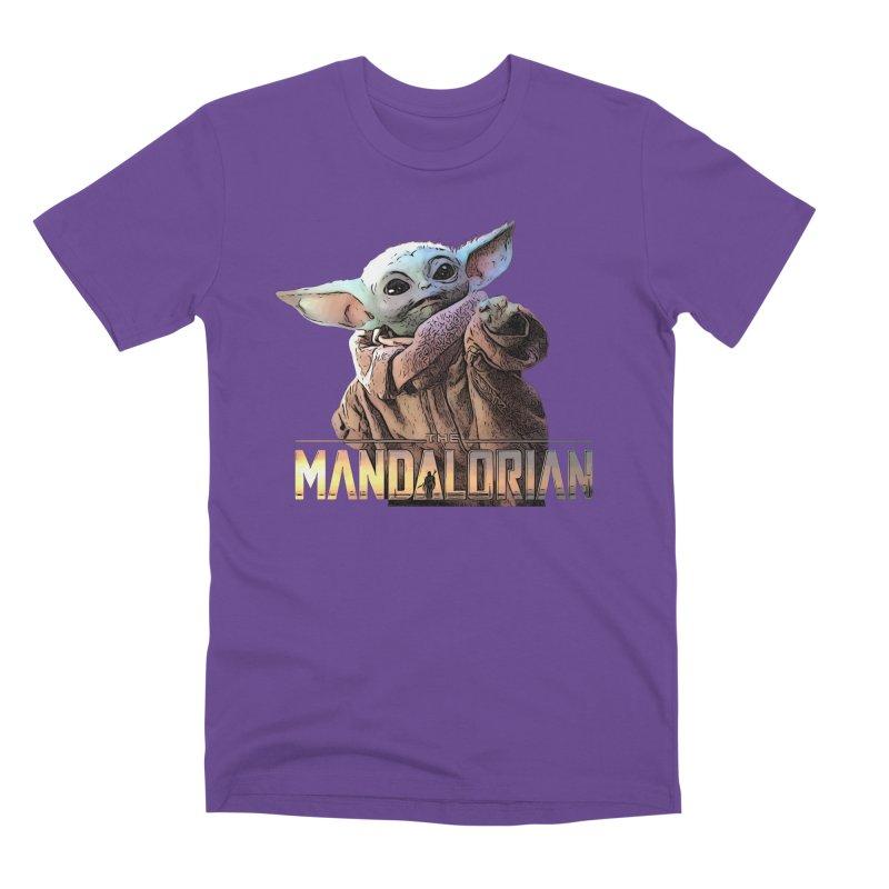 Baby Yoda 2 Men's Premium T-Shirt by TwistedPhillyPodcast's Shop