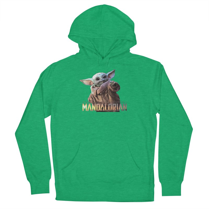 Baby Yoda 2 Men's French Terry Pullover Hoody by TwistedPhillyPodcast's Shop