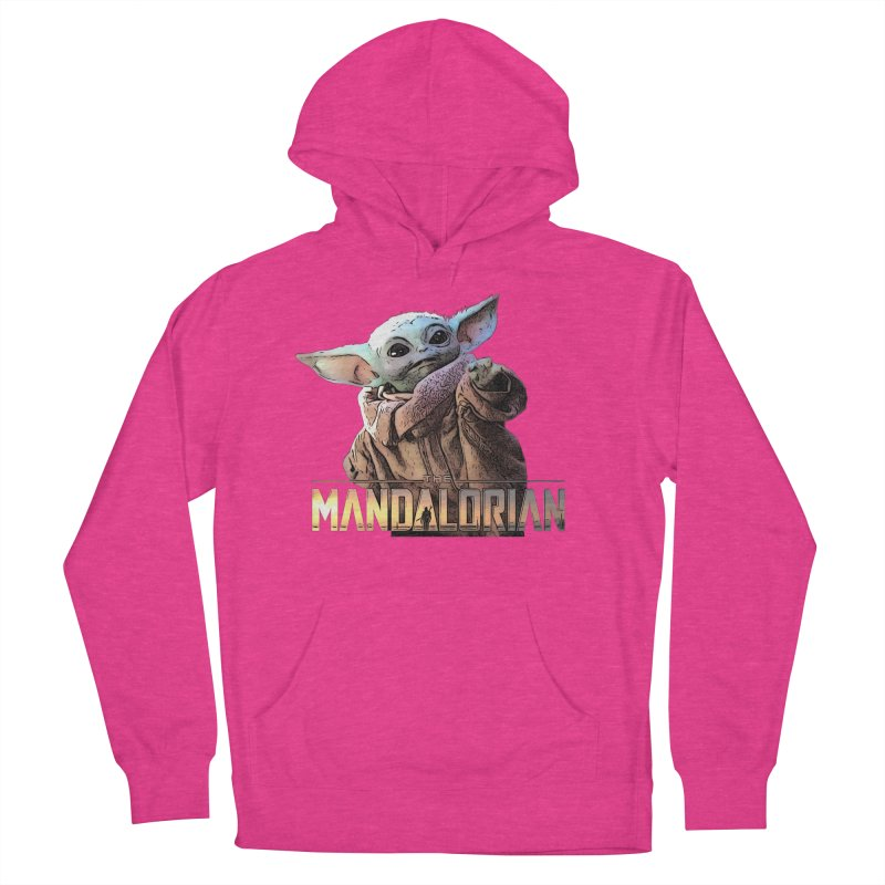 Baby Yoda 2 Women's French Terry Pullover Hoody by TwistedPhillyPodcast's Shop