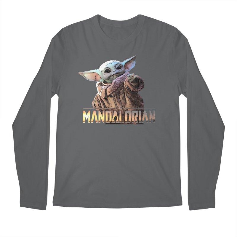 Baby Yoda 2 Men's Regular Longsleeve T-Shirt by TwistedPhillyPodcast's Shop
