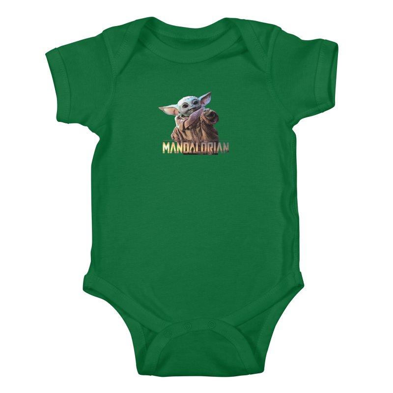 Baby Yoda 2 Kids Baby Bodysuit by TwistedPhillyPodcast's Shop