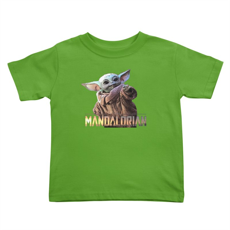 Baby Yoda 2 Kids Toddler T-Shirt by TwistedPhillyPodcast's Shop