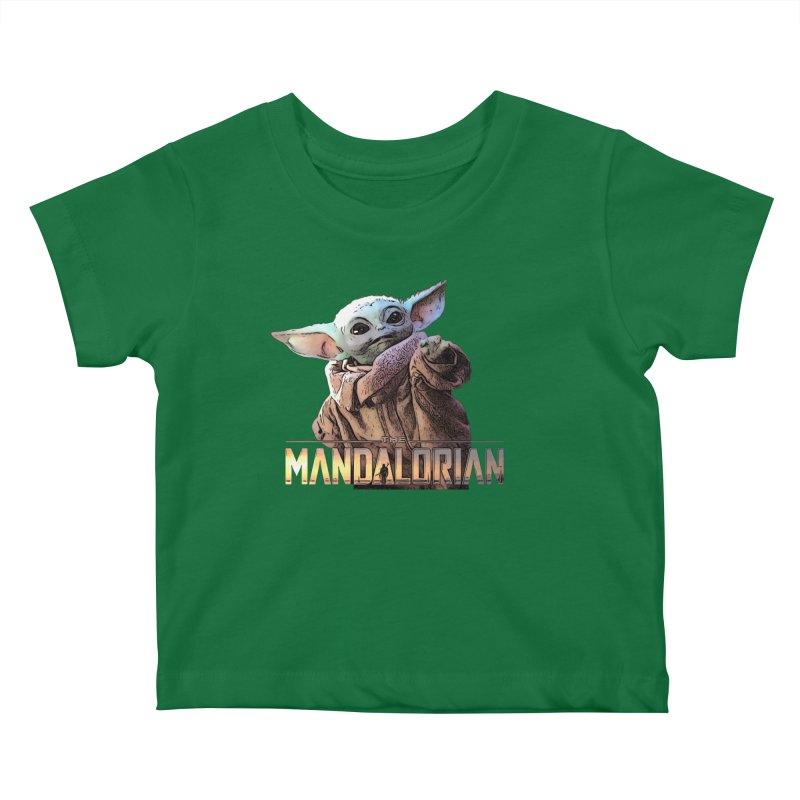 Baby Yoda 2 Kids Baby T-Shirt by TwistedPhillyPodcast's Shop