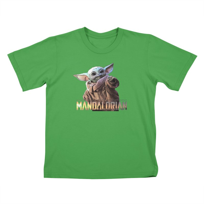 Baby Yoda 2 Kids T-Shirt by TwistedPhillyPodcast's Shop