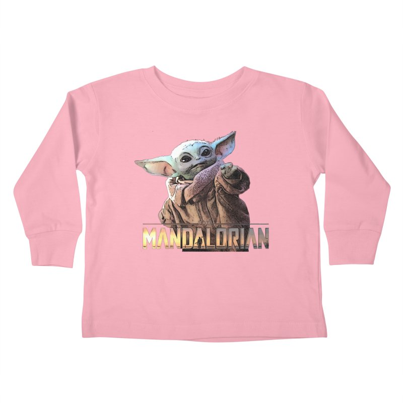 Baby Yoda 2 Kids Toddler Longsleeve T-Shirt by TwistedPhillyPodcast's Shop