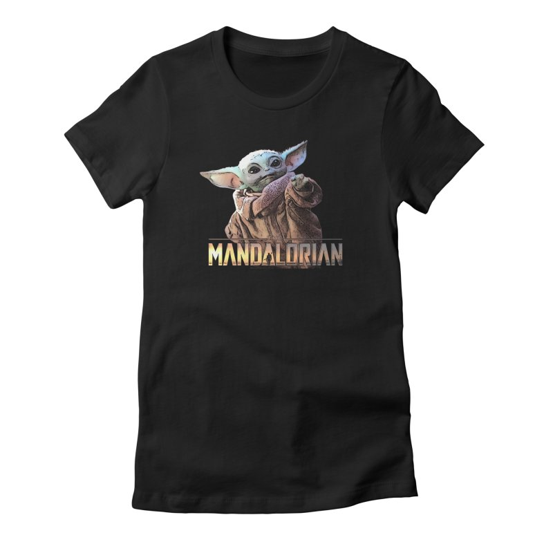 Baby Yoda 2 Women's Fitted T-Shirt by TwistedPhillyPodcast's Shop