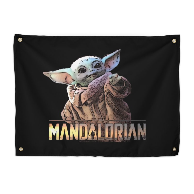Baby Yoda 2 Home Tapestry by TwistedPhillyPodcast's Shop
