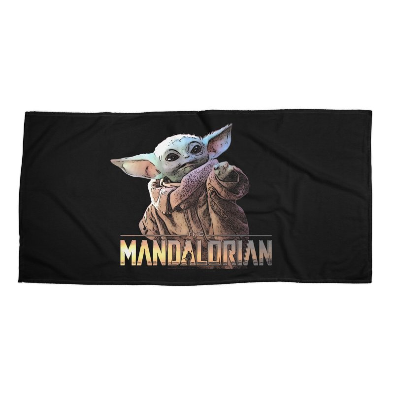 Baby Yoda 2 Accessories Beach Towel by TwistedPhillyPodcast's Shop
