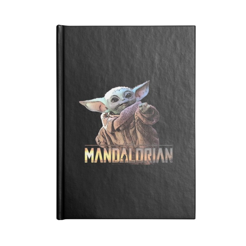 Baby Yoda 2 Accessories Lined Journal Notebook by TwistedPhillyPodcast's Shop