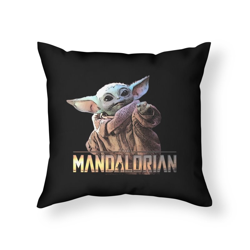 Baby Yoda 2 Home Throw Pillow by TwistedPhillyPodcast's Shop