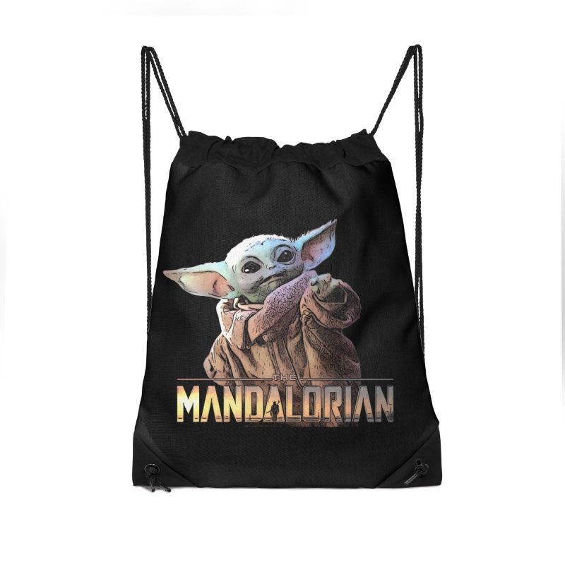 Baby Yoda 2 Accessories Drawstring Bag Bag by TwistedPhillyPodcast's Shop
