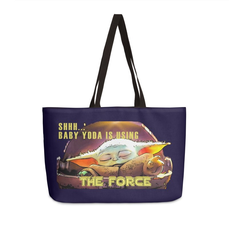 The Baby 1 Accessories Weekender Bag Bag by TwistedPhillyPodcast's Shop