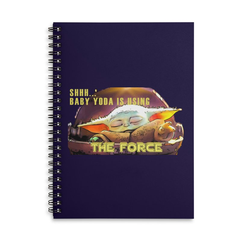 The Baby 1 Accessories Lined Spiral Notebook by TwistedPhillyPodcast's Shop