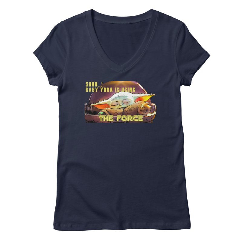 The Baby 1 Women's Regular V-Neck by TwistedPhillyPodcast's Shop