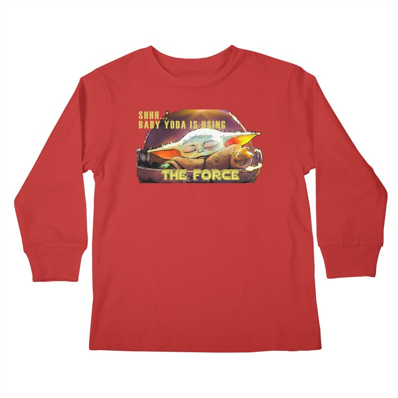 The Baby 1 Kids Longsleeve T-Shirt by TwistedPhillyPodcast's Shop