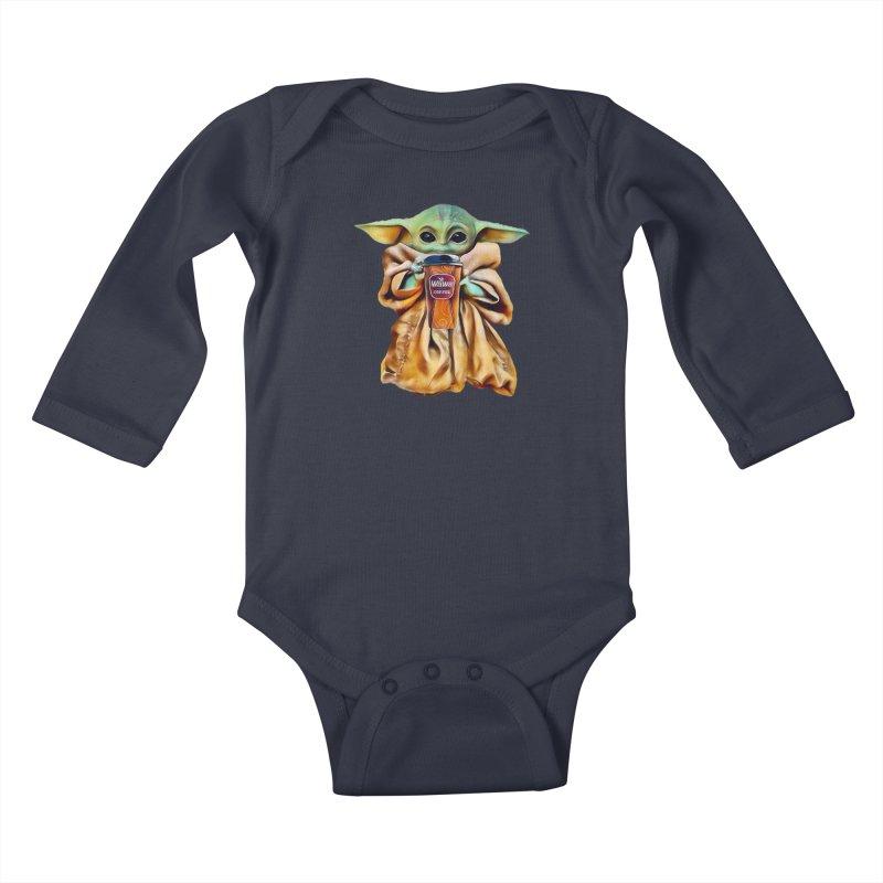 Gotta Have a Wawa Kids Baby Longsleeve Bodysuit by TwistedPhillyPodcast's Shop