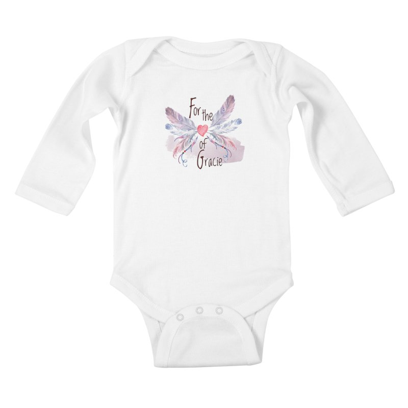 For the LOVE of Gracie - Grace Packer Charity Kids Baby Longsleeve Bodysuit by TwistedPhillyPodcast's Shop