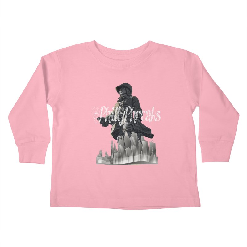 #PhillyPhreaks Kids Toddler Longsleeve T-Shirt by TwistedPhillyPodcast's Shop