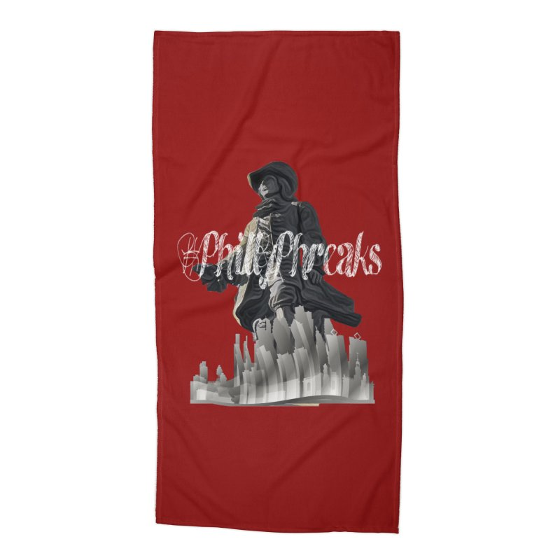 #PhillyPhreaks Accessories Beach Towel by TwistedPhillyPodcast's Shop