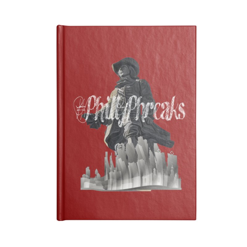 #PhillyPhreaks Accessories Notebook by TwistedPhillyPodcast's Shop