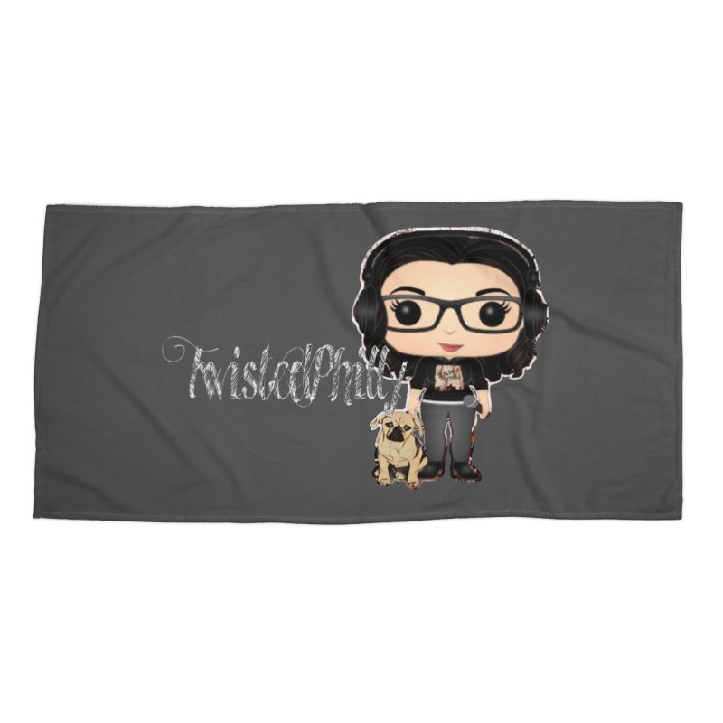 TwistedPhilly Mini Me in Beach Towel by TwistedPhillyPodcast's Shop