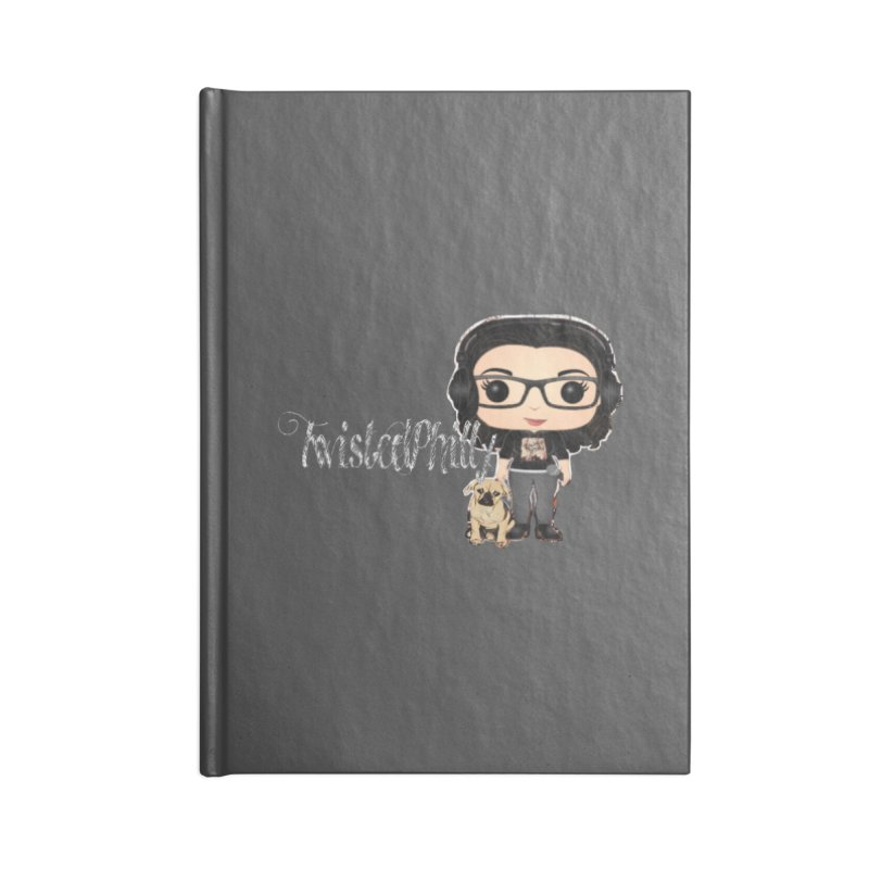 TwistedPhilly Mini Me Accessories Lined Journal Notebook by TwistedPhillyPodcast's Shop