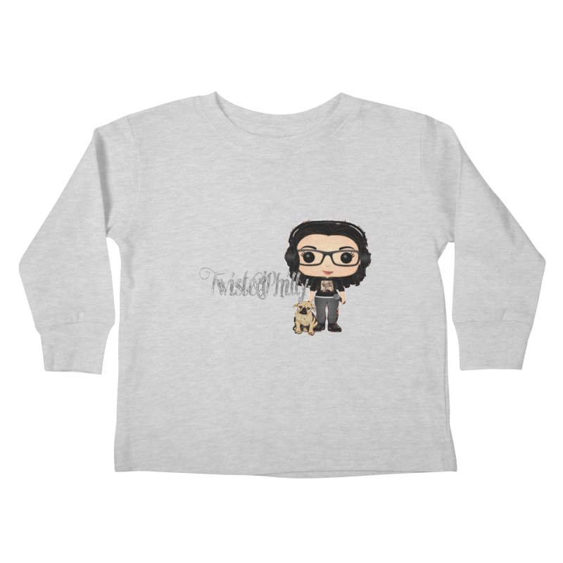 TwistedPhilly Mini Me Kids Toddler Longsleeve T-Shirt by TwistedPhillyPodcast's Shop