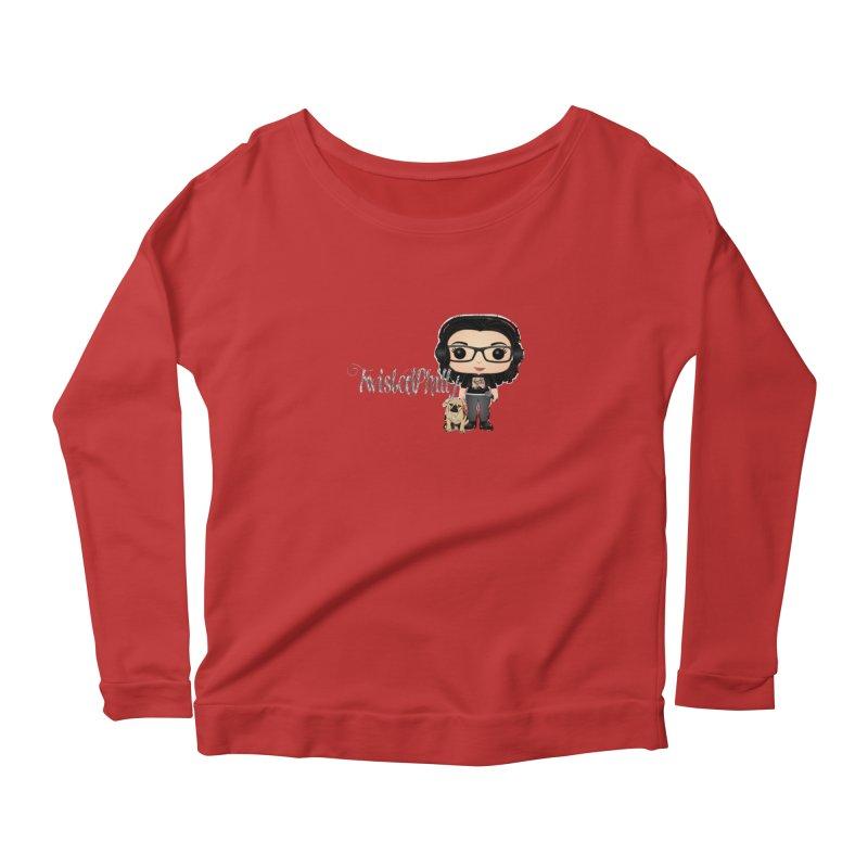 TwistedPhilly Mini Me Women's Scoop Neck Longsleeve T-Shirt by TwistedPhillyPodcast's Shop