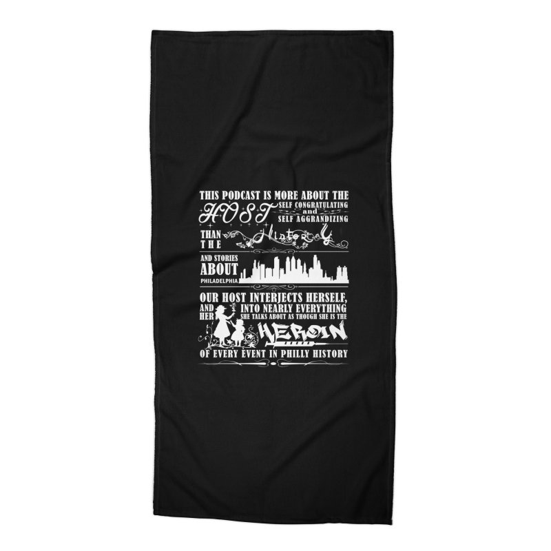 The Bad Review Accessories Beach Towel by TwistedPhillyPodcast's Shop