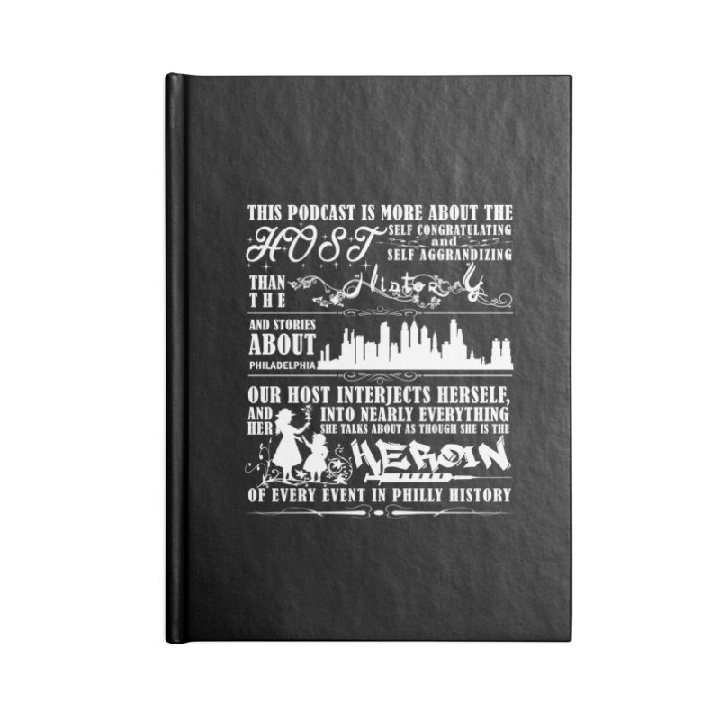 The Bad Review Accessories Blank Journal Notebook by TwistedPhillyPodcast's Shop