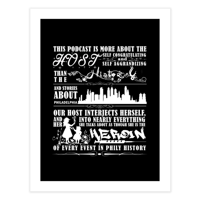 The Bad Review Home Fine Art Print by TwistedPhillyPodcast's Shop