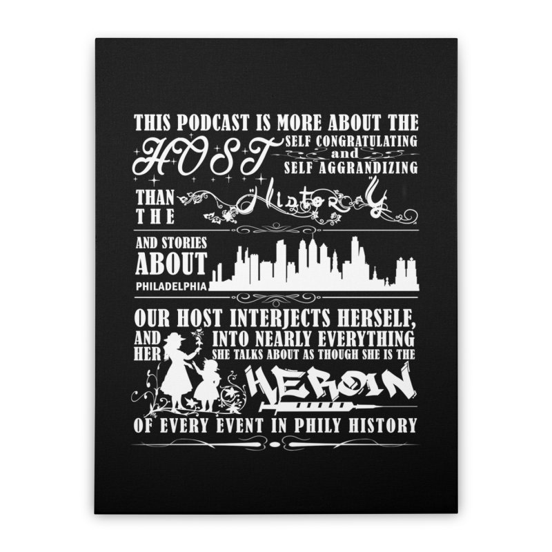 The Bad Review Home Stretched Canvas by TwistedPhillyPodcast's Shop