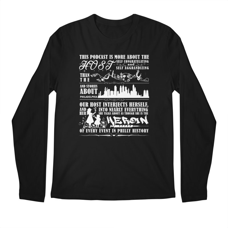 The Bad Review Men's Regular Longsleeve T-Shirt by TwistedPhillyPodcast's Shop