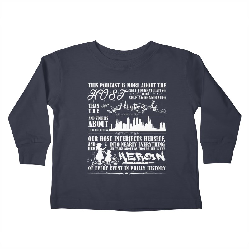 The Bad Review Kids Toddler Longsleeve T-Shirt by TwistedPhillyPodcast's Shop